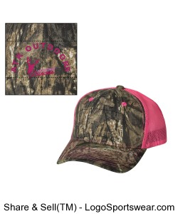 Womens Real Tree Camo Hat Design Zoom