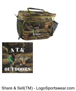 Custom Hunting And Fishing Cooler Design Zoom
