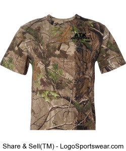Real Tree Camo T-shirt Design Zoom